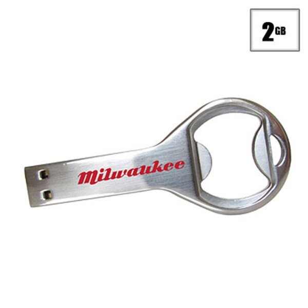 Milwaukee USB Flash Drive, 2GB