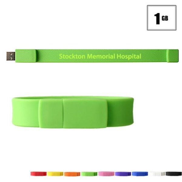 Union USB Flash Drive Bracelet, 1GB