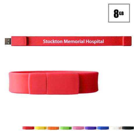 Union USB Flash Drive Bracelet, 8GB