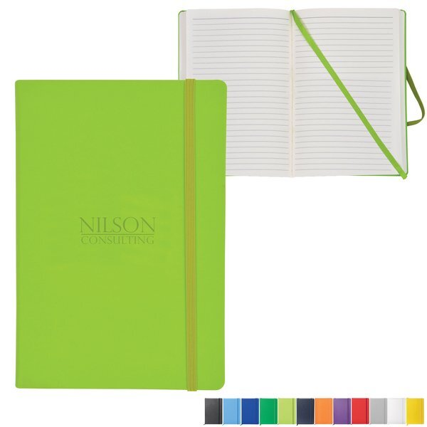 "NeoSkin® Hard Cover Journal, 5-1/2"" x 8-1/4"""