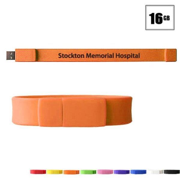 Union USB Flash Drive Bracelet, 16GB