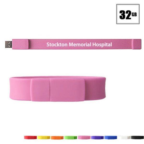 Union USB Flash Drive Bracelet, 32GB