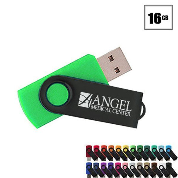 MVP Black USB Flash Drive, 16GB