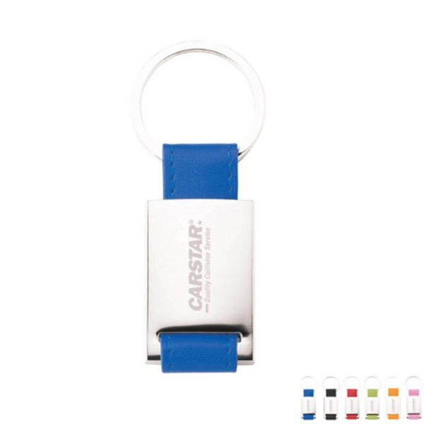 Colorplay Leather Key Ring