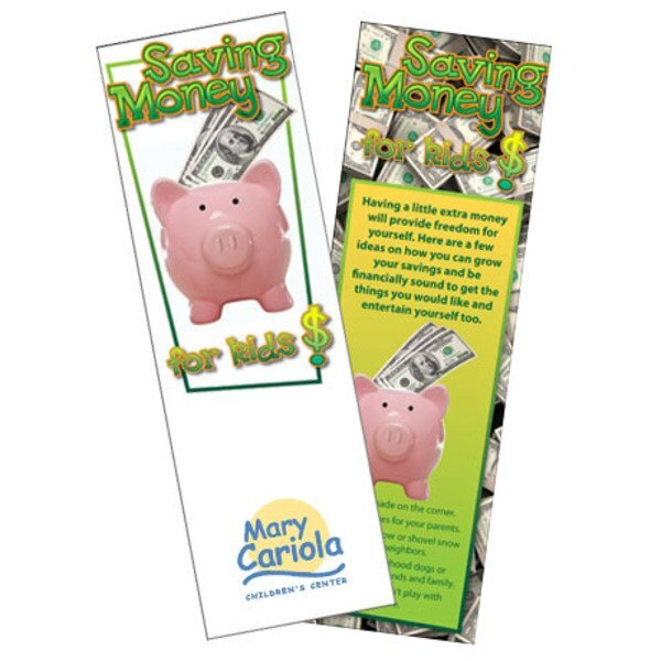 Saving Money for Kids Bookmark