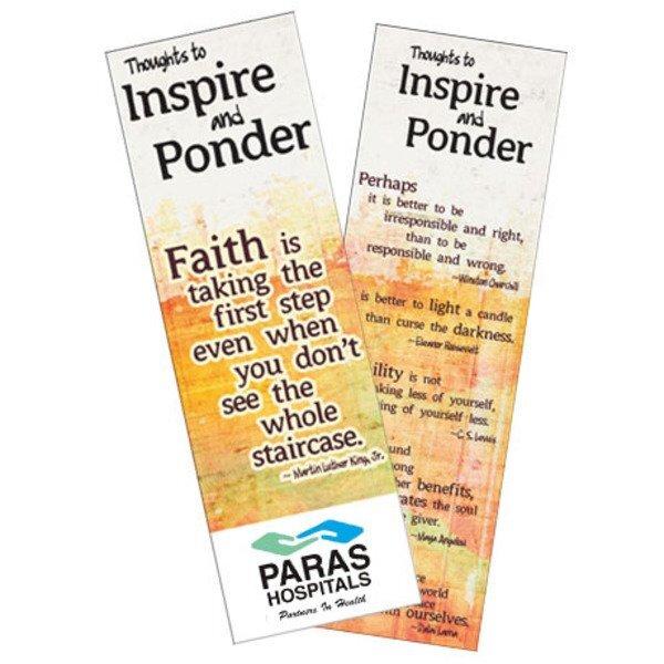 Inspirational Quotes Bookmark