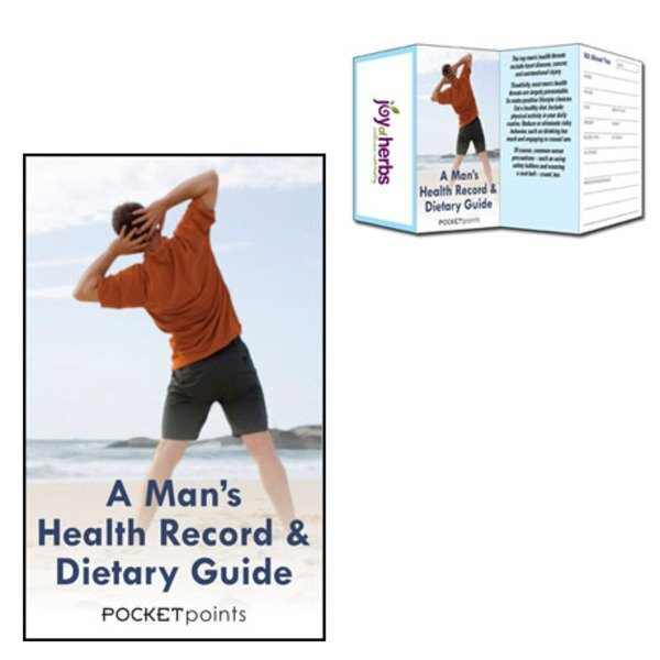 Man's Health Record & Dietary Guide Pocket Point