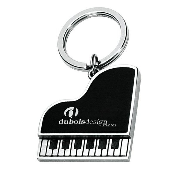 Metal Piano Key Chain