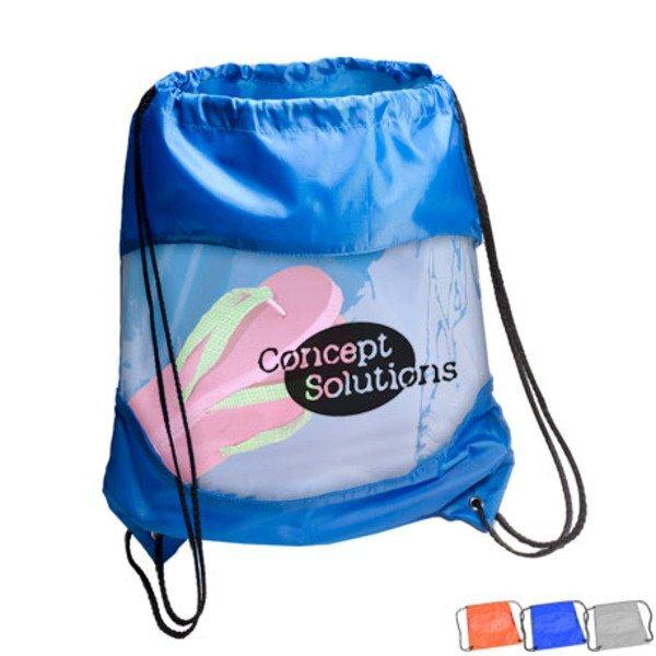 Fleece Blanket & Drawstring Bag Combo