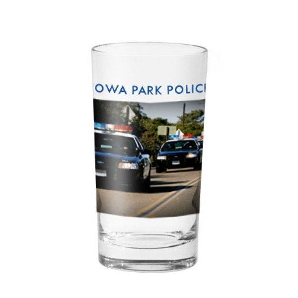 Beverage Glass, 12oz., Full Color Imprint