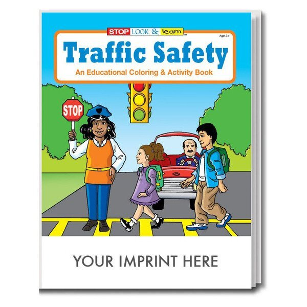 Traffic Safety Coloring & Activity Book