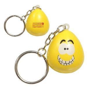 Mood Maniac Stress Reliever Key Chain - Happy