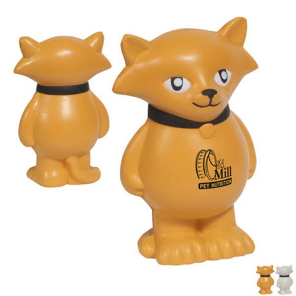 Cartoon Cat Stress Reliever