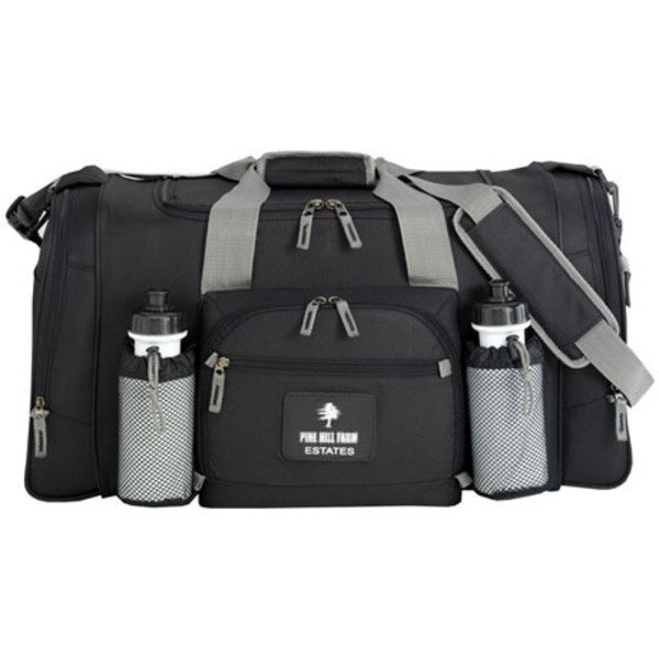 """Expedition 600D Polyester Travel Duffel, 25"""""""