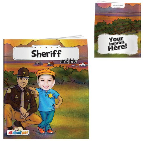 Sheriff & Me All About Me Book