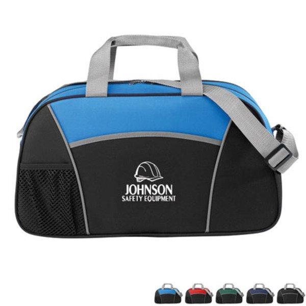"Sprint 600D Polyester Gym Duffel Bag, 19"""