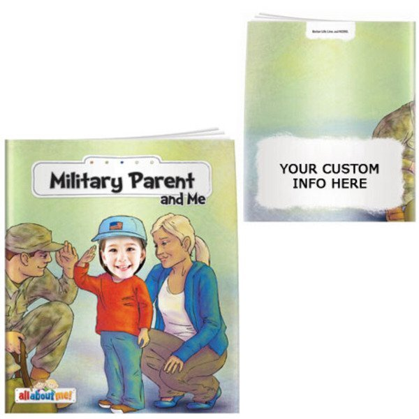 Military Parent and Me All About Me Book
