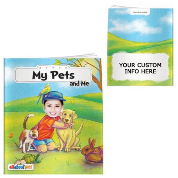 My Pets and Me All About Me Book