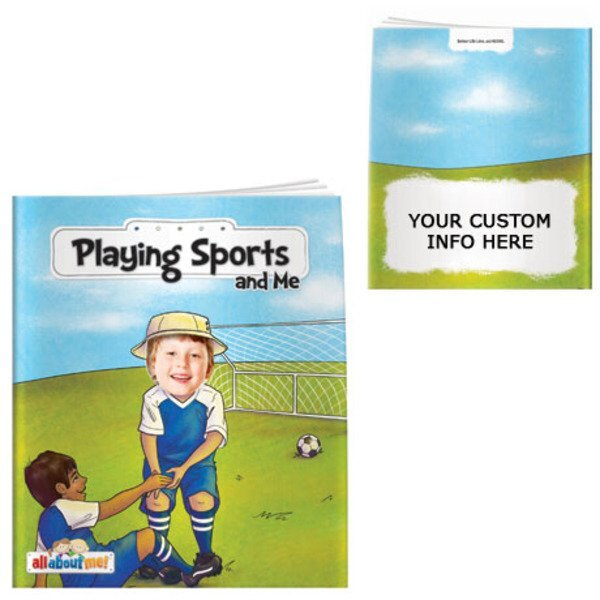 Playing Sports and Me All About Me Book