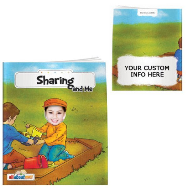 Sharing and Me All About Me Book