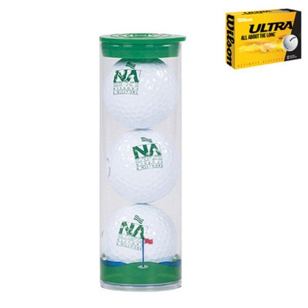 Wilson® Ultra 3 Ball Tube