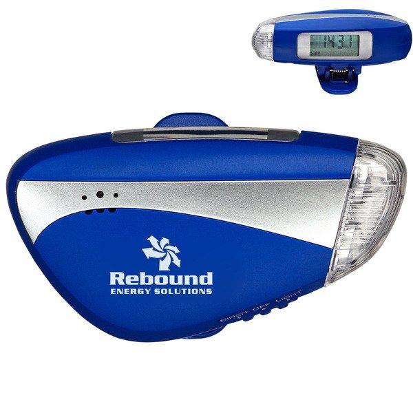 Light and Sound Pedometer