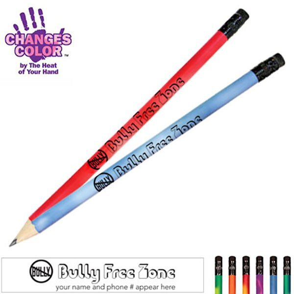 Bully Free Zone Mood Color Changing Pencil