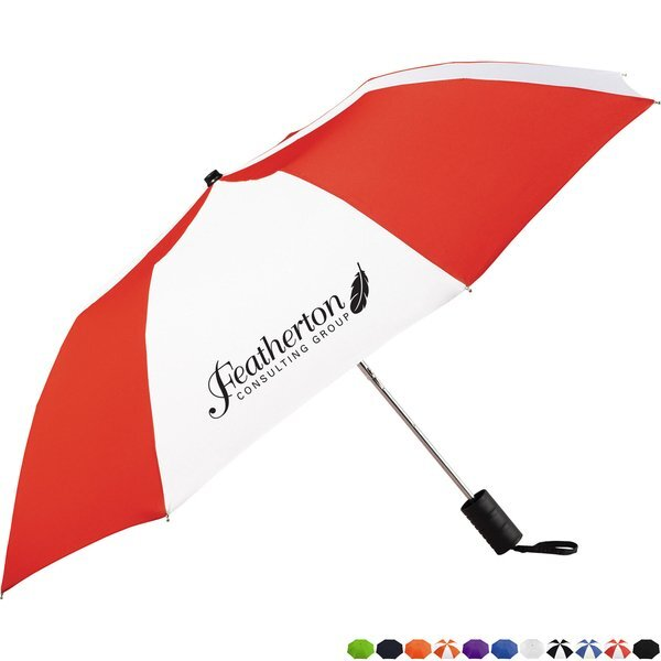 "Miami Auto Open Folding Umbrella, 42"" Arc"