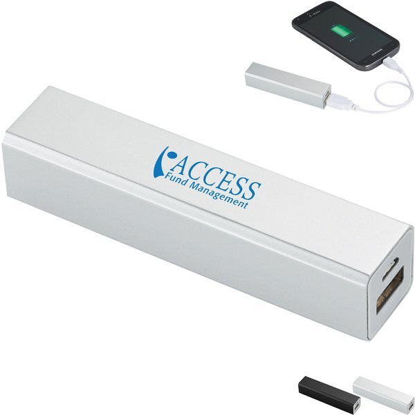 Volt Aluminum Case Power Bank, 2200mAh