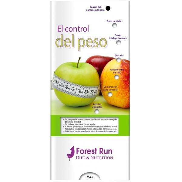 Managing Your Weight Pocket Slider™ (Spanish Version)