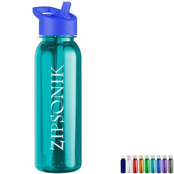 Corvus Tritan™ Bottle, 24oz. - Flip Straw Lid