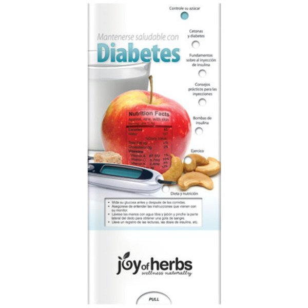 Staying Healthy with Diabetes Pocket Slider™ (Spanish Version)