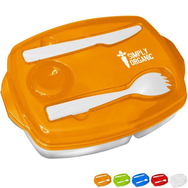 Locking Lid Lunch Tray Container