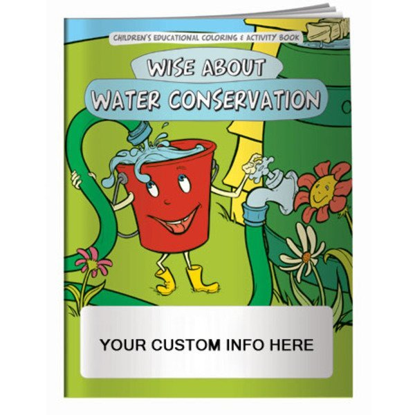 Wise about Water Conservation Coloring Book