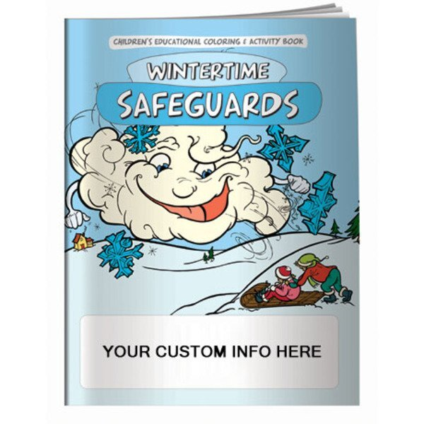 Wintertime Safeguards Coloring Book