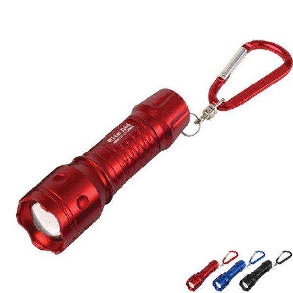 CREE® Vivid Triple Output Mini LED Carabiner Flashlight