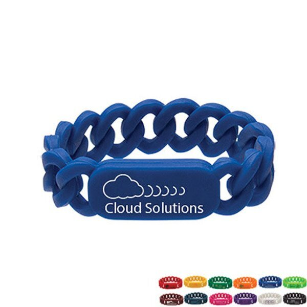 Silicone Link Wristband