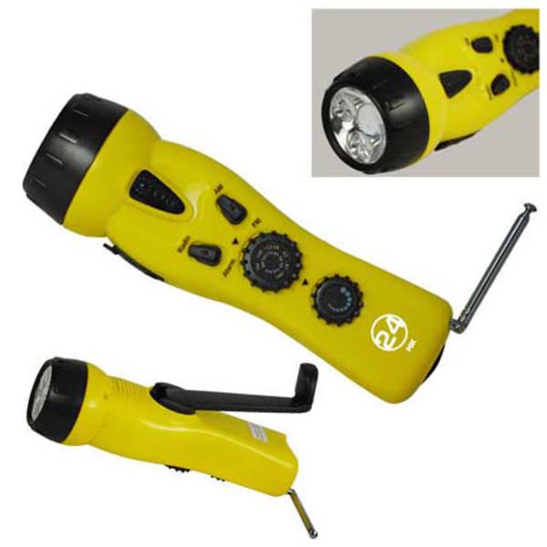Dynamo 4 in 1 Emergency Radio/Flashlight