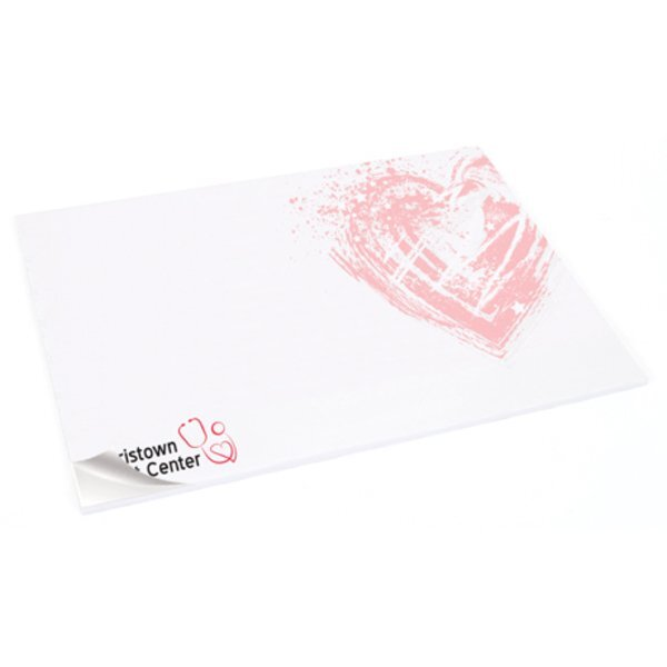 """Post-it®  Full Color Printed Notes - 6"""" x 8"""", 25 Sheets"""
