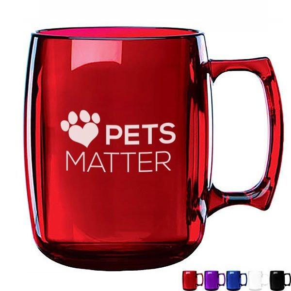 Courier BPA-Free Mug, 14oz.