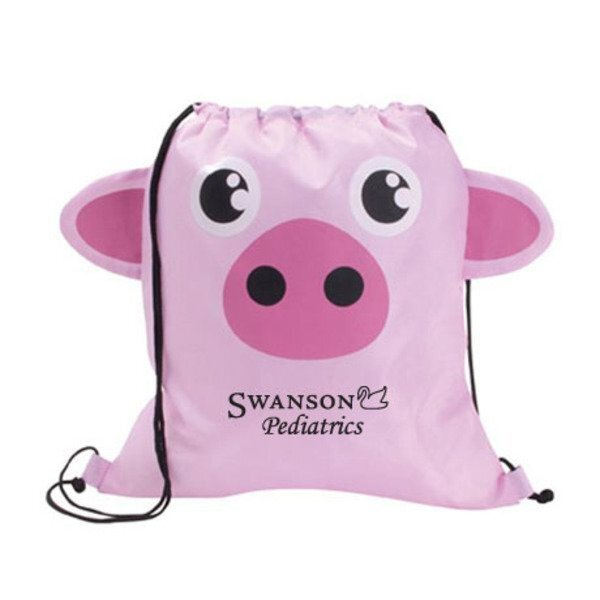 Paws N Claws Polyester Sport Pack - Pig