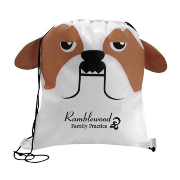 Paws N Claws Polyester Sport Pack - Bulldog