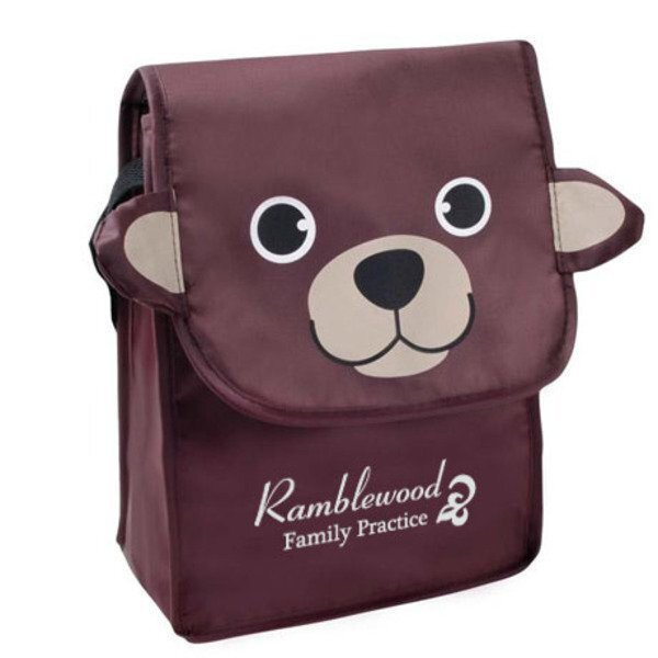 Paws N Claws Polyester Lunch Bag - Bear