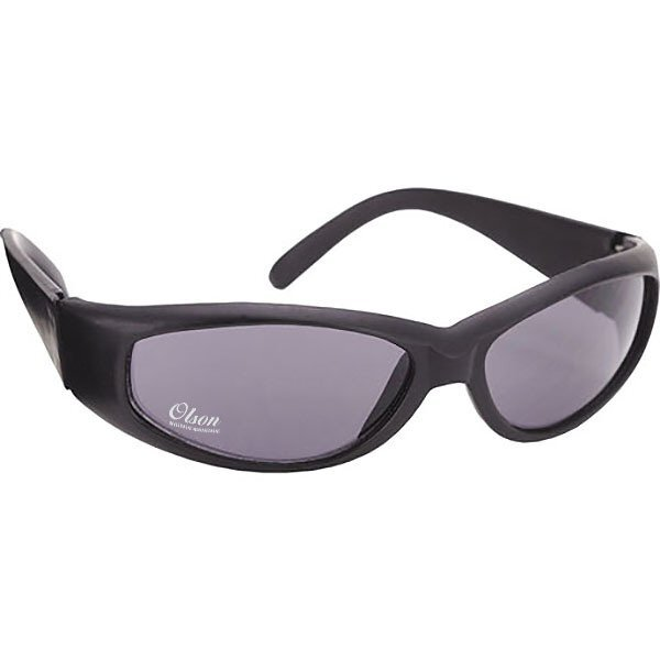 Racer Wrap Nylon Matte Black Sunglasses