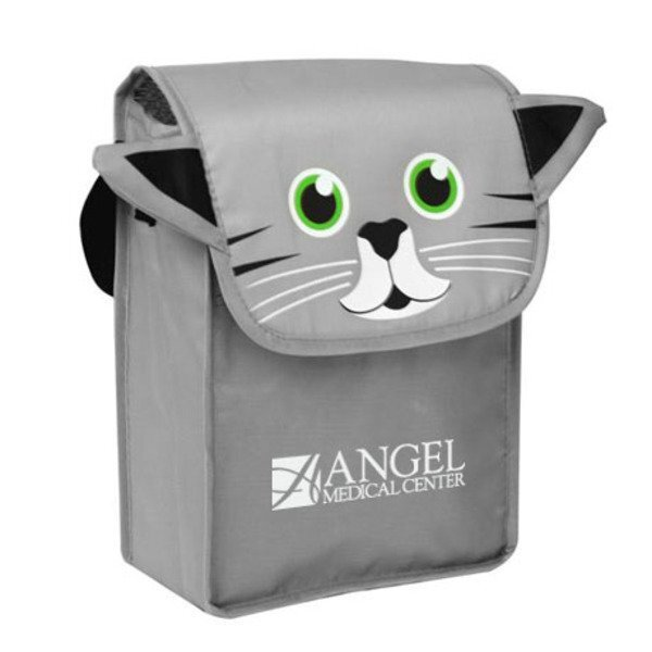 Paws N Claws Polyester Lunch Bag - Kitten