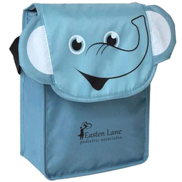 Paws N Claws Polyester Lunch Bag - Elephant