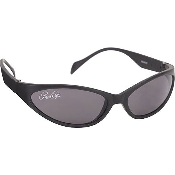 Snake Wrap Black Nylon Sunglasses