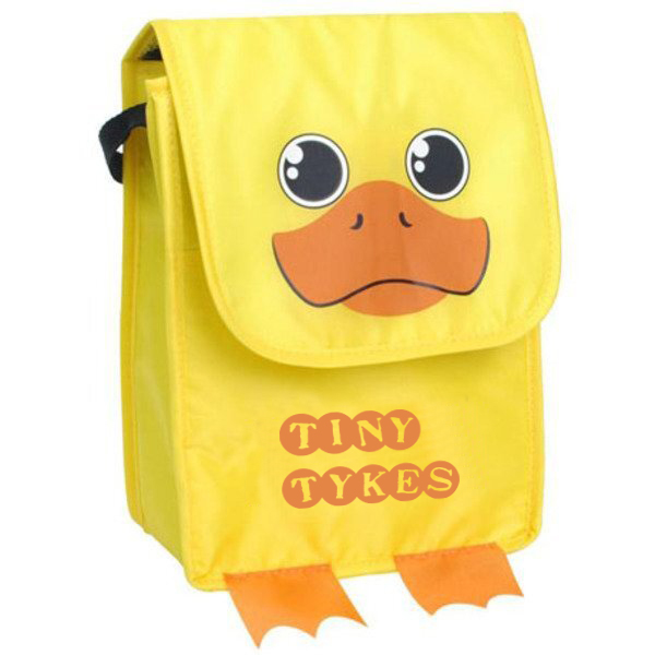 Paws N Claws Polyester Lunch Bag - Duck