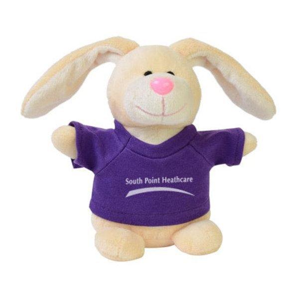 "Bunny Plush Bean Bag Buddy, 7"""