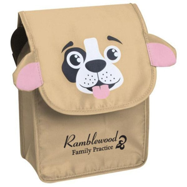 Paws N Claws Polyester Lunch Bag - Puppy